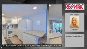 11 E Mercer Avenue, # 2, Harvey Cedars, NJ 08008 #LBI