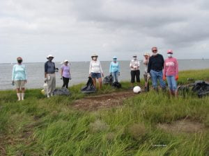 Volunteers Give Mordecai Island a Sprucing Up