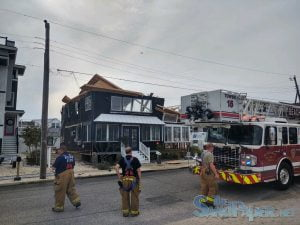 Construction Workers Airlifted After Partial House Collapse in Brant Beach