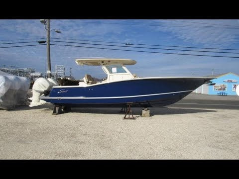 2019 Scout 300 LXF Boat For Sale at MarineMax Ship Bottom, NJ #LBI