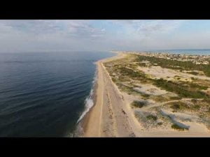 Barnegat Light Beach | Drone Flight #LBI