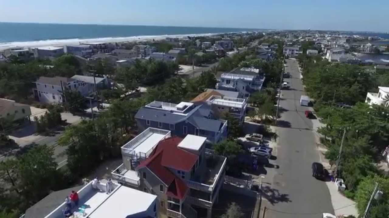 DJI Phantom 3 1080p video of Harvey Cedars, NJ #LBI