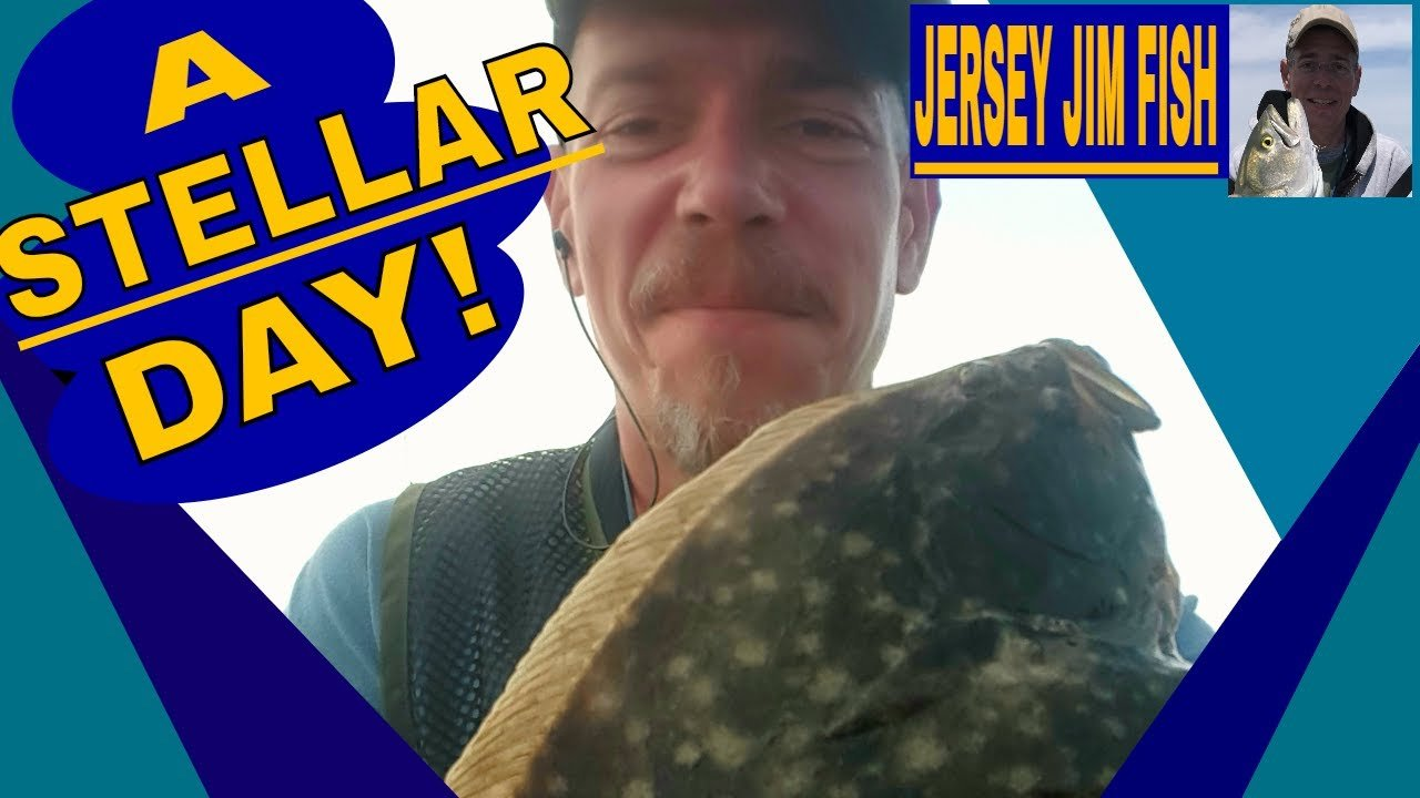 Read more about the article FLUKE FISHING BARNEGAT LIGHT NJ ON THE HOBIE/EVEN A BLIND MAN KNOWS WHEN THE SUN IS SHINING! #LBI