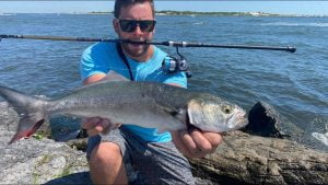 Fishing the BARNEGAT INLET Jersey Shore #LBI