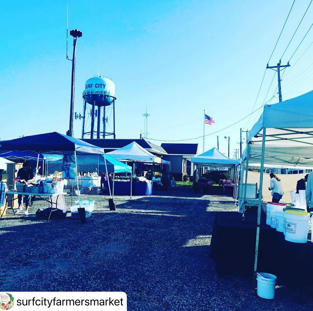 LBI   ・・・ E-X-T-E-N-D-E-D!!! The Surf City Farmers Market will run through SEPTEMBER…