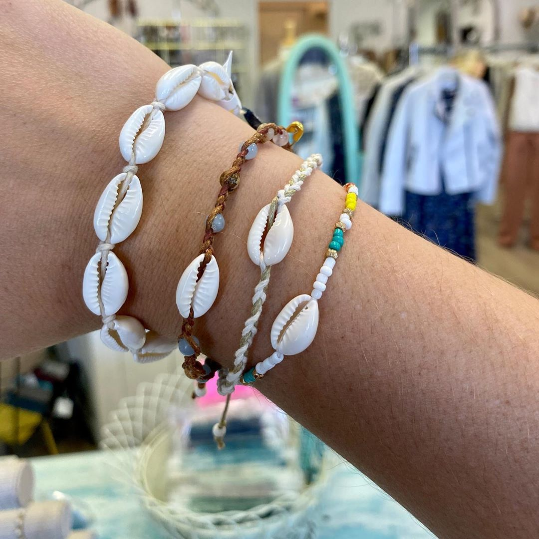 LBI $16 shell bracelets make such a cute gift! …