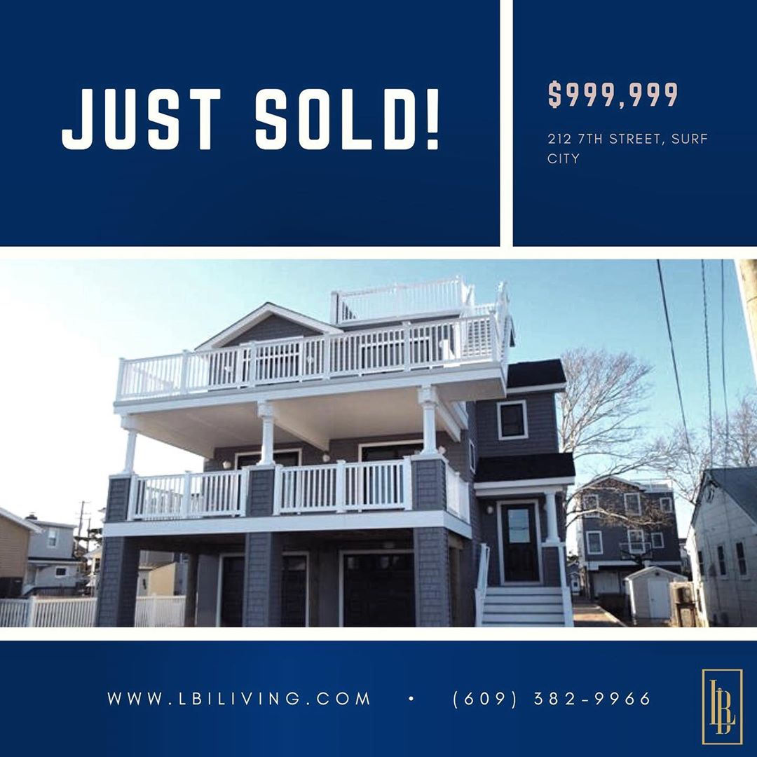 LBI  212 7th St. Surf City   . Congratulations to the new owners of this home  glad …
