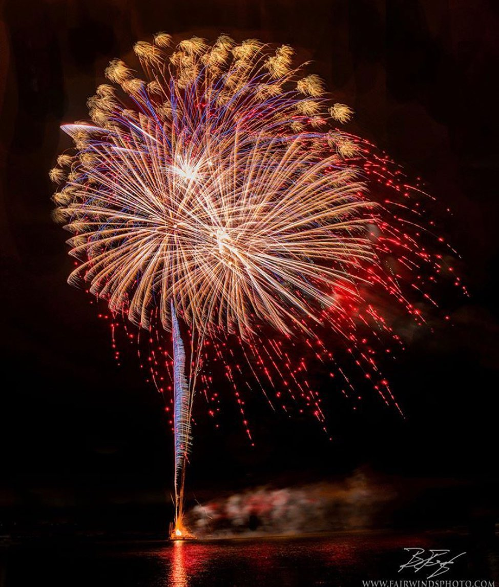 "LBI 4TH OF JULY FIREWORKS ANNOUNCEMENT FROM  ""Bay Village has made the decision to c…"