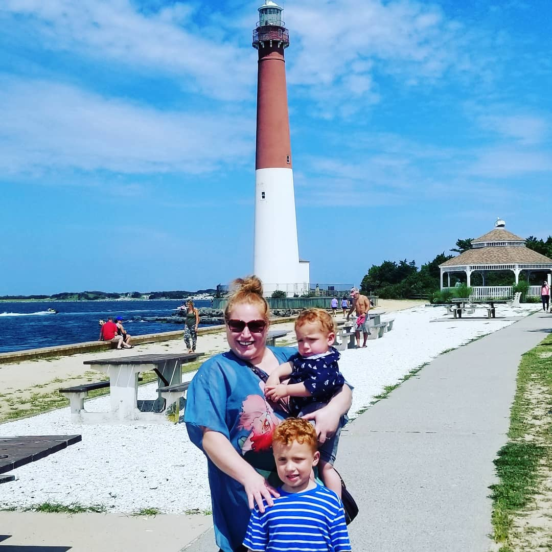 LBI A great day visiting the Barnegat Lighthouse.   …