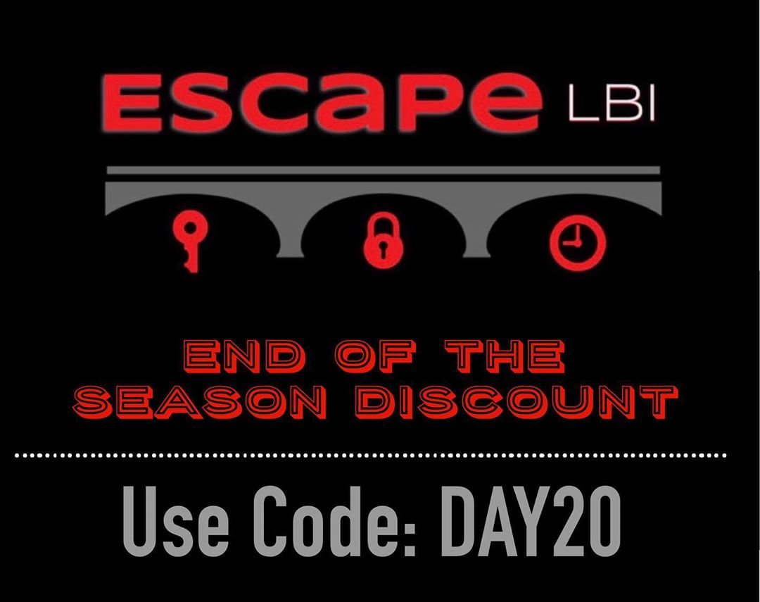 LBI Again, we want to thank you for another great season. Enjoy 20% off your game th…