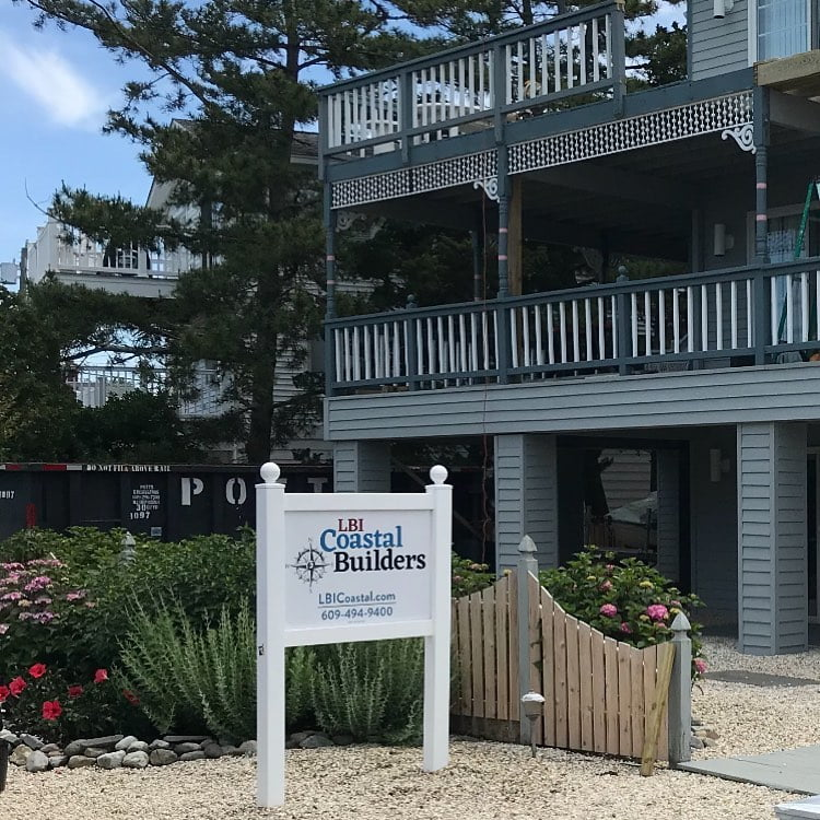 LBI Another project underway… a new deck in Surf City. How can LBI Coastal Builder…