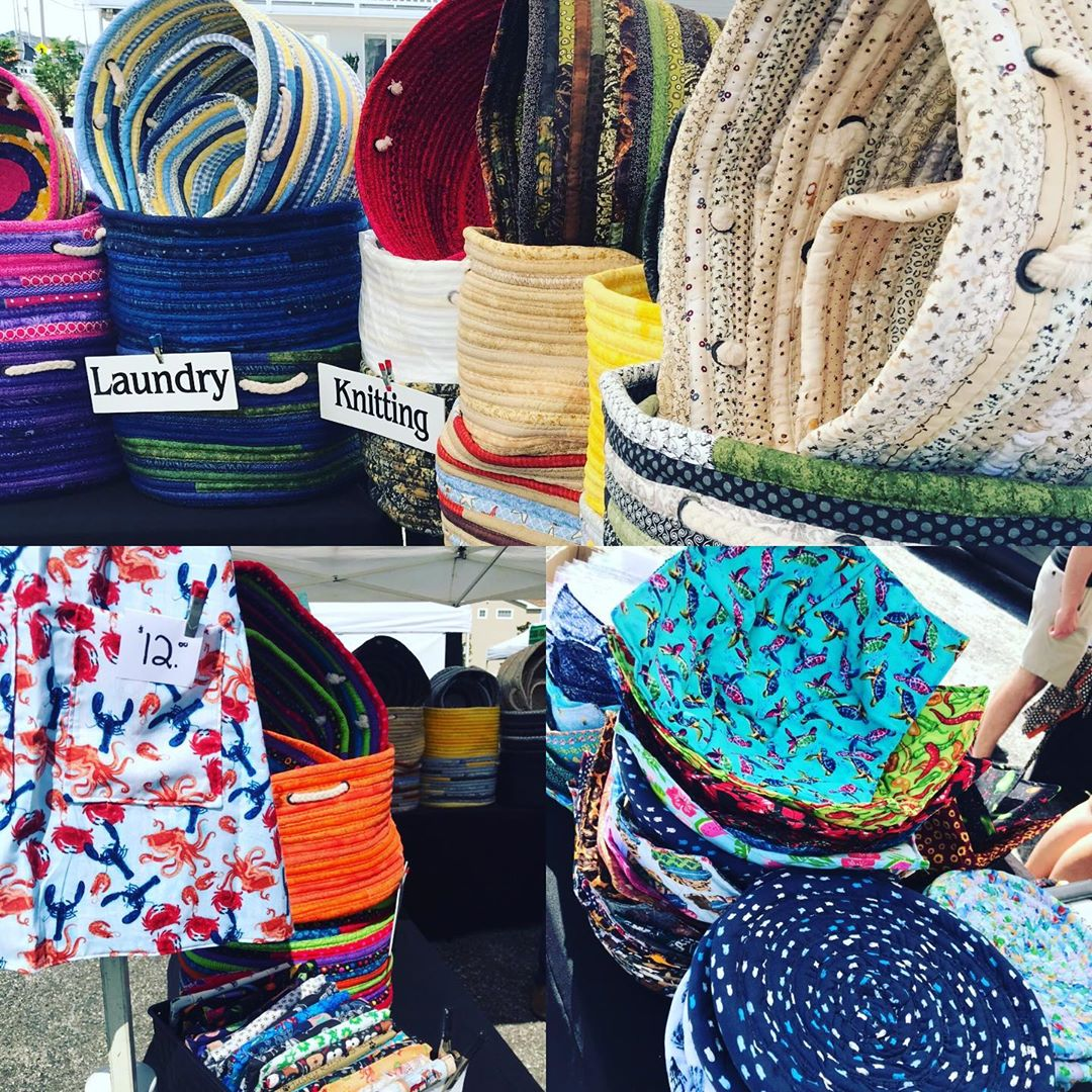LBI BASKETS BY VICKY…at the Surf City Farmers Market through 9/28 now starting at …