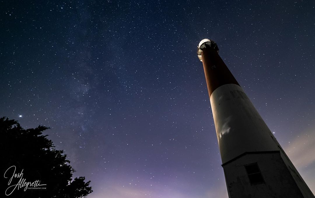 LBI Barnegat Lighthouse and the Milky Way.  8/18/2020 * * *                         …