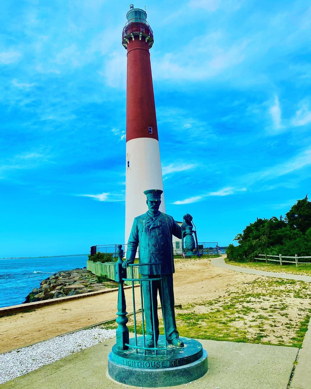"LBI Barnegat Lighthouse or Barnegat Light, colloquially known as ""Old Barney"", is a …"