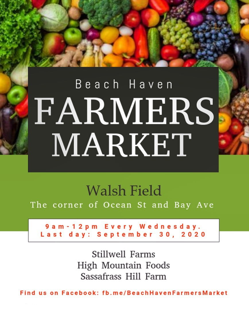 LBI Beach Haven Farmers Market, we're not going anywhere yet!! We'll be here all the…