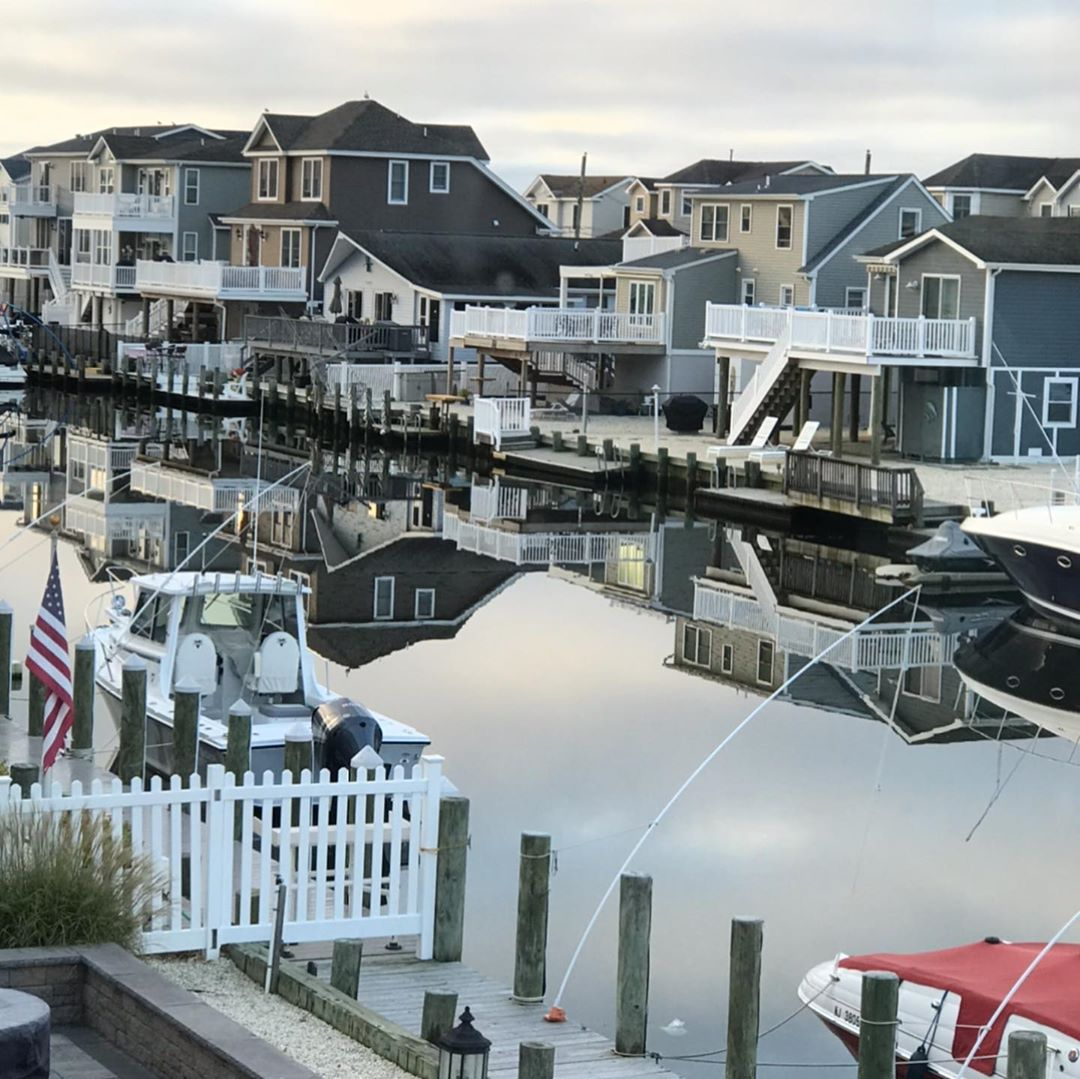 LBI Beautiful day for a early morning boat ride                …