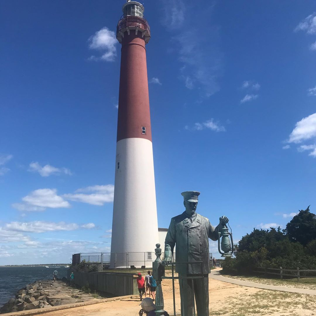LBI Beautiful day to visit Ole Barney     …