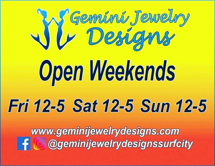 LBI Beginning this week we will be open weekends Friday through Sunday 12-5pm & by a…