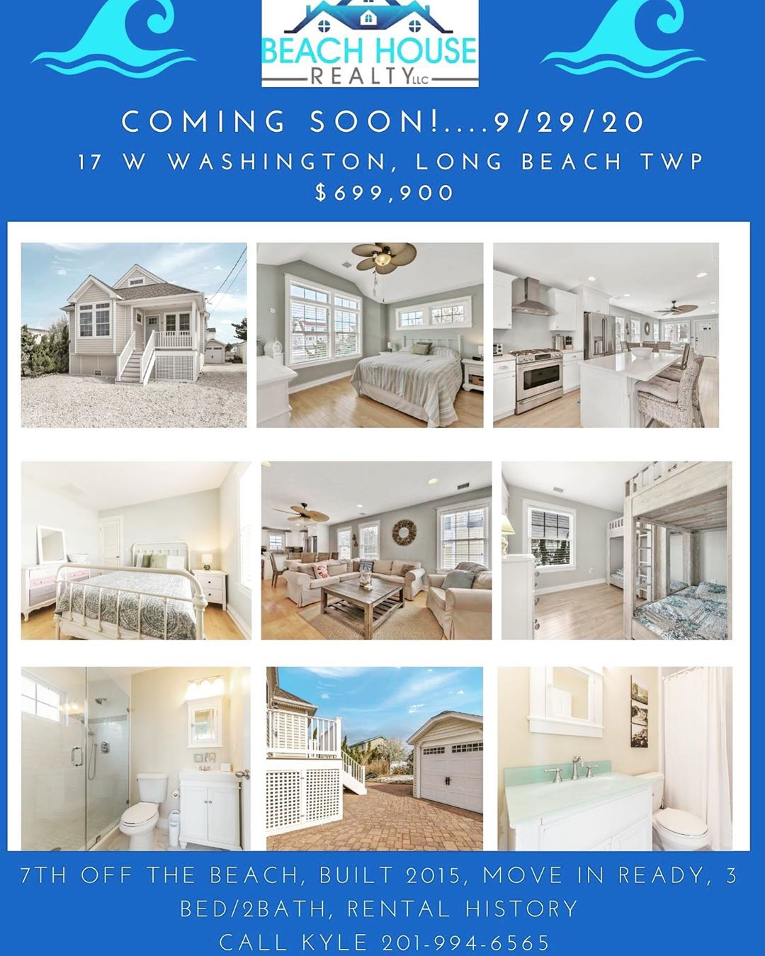 LBI COMING SOON LISTING! Available to be shown Sept 29th! Beautiful move in ready LB…