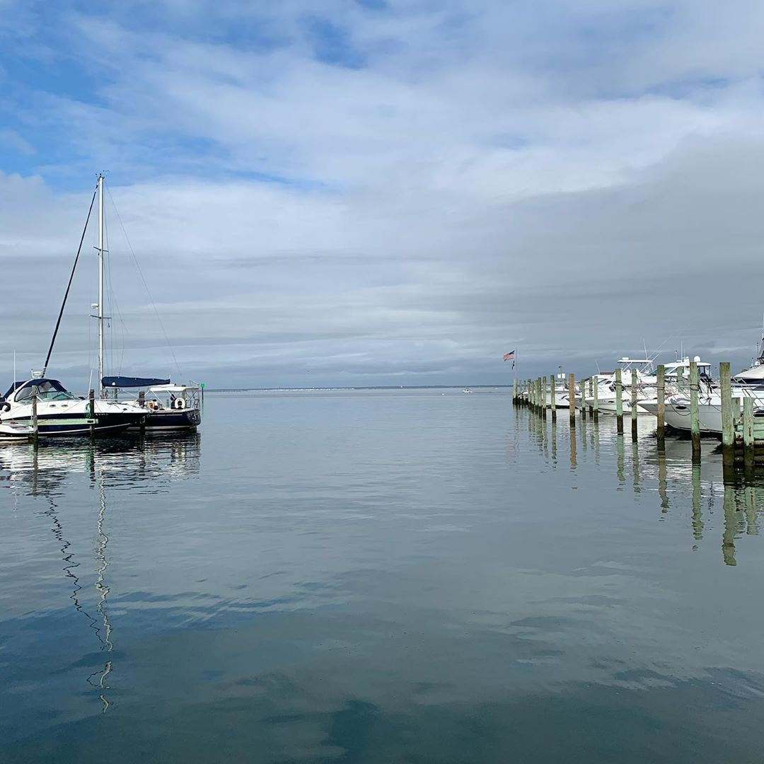 LBI Calm waters this morning.        …