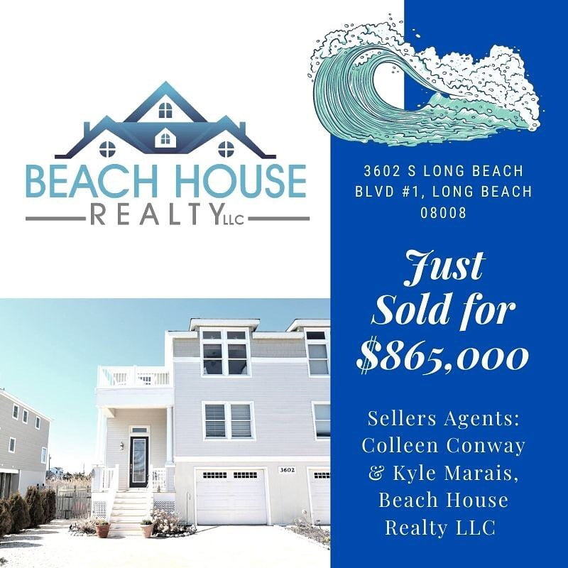LBI Congratulations to my sellers and neighbors on their sale today! Thank you for t…