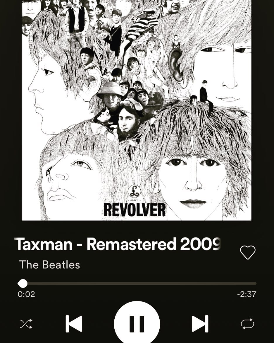 LBI Continuing my Fab Four quest with Revolver, imho their best album (sorry pepper …