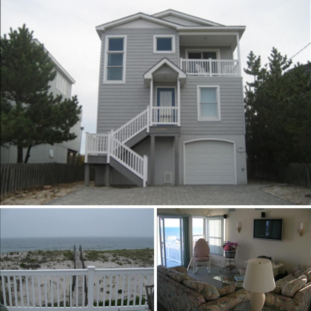 LBI Enjoy your own private beach access at this oceanfront, vacation rental in      …