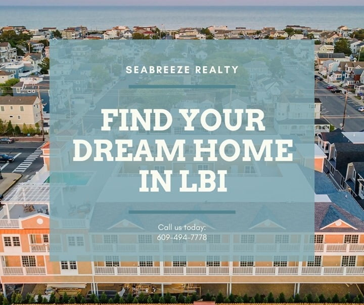 LBI Find your dream home in LBI with Seabreeze realty. Call now: 609-494-7778 •     …