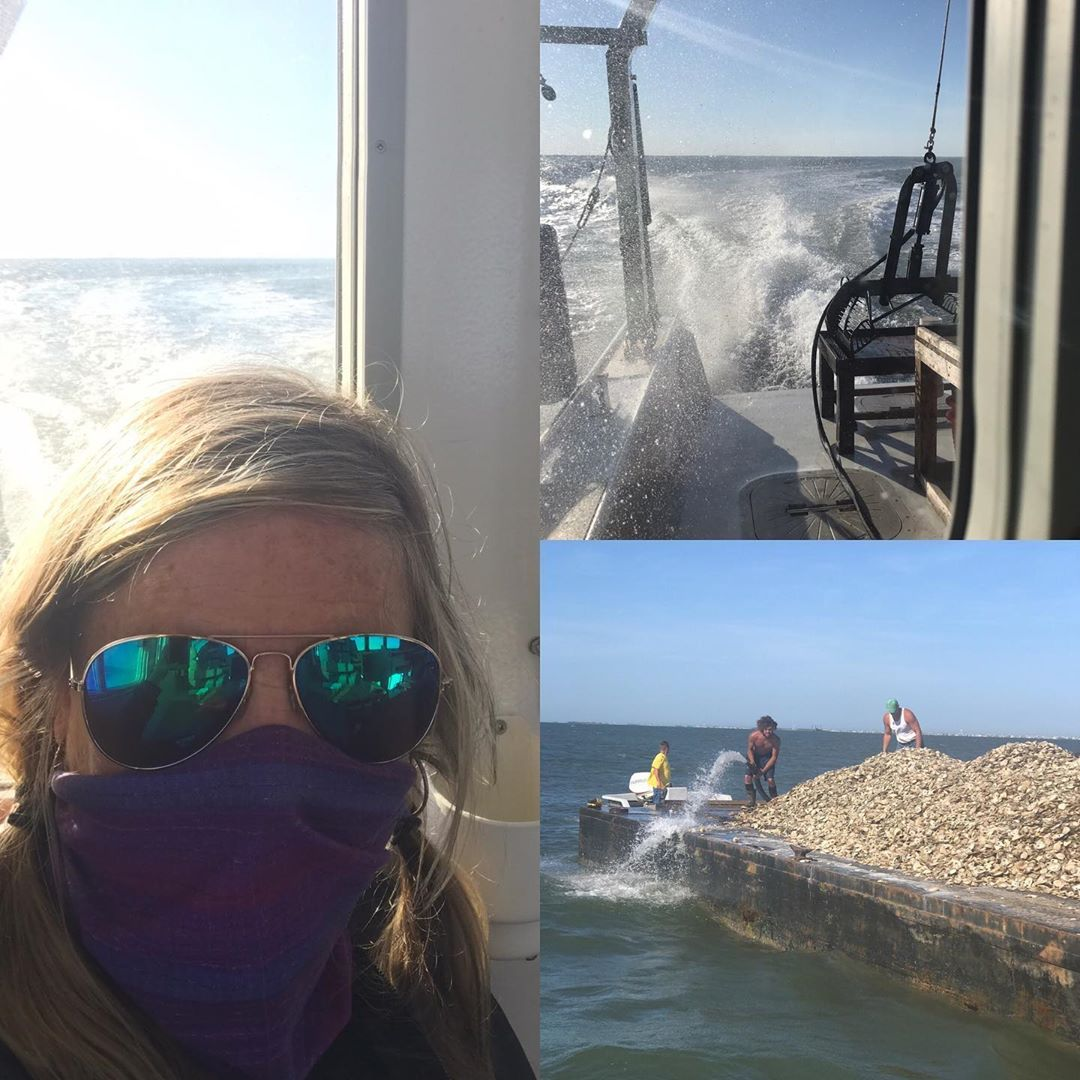 LBI Followed the shell to the reef- oyster farm to table -back to the bay    …