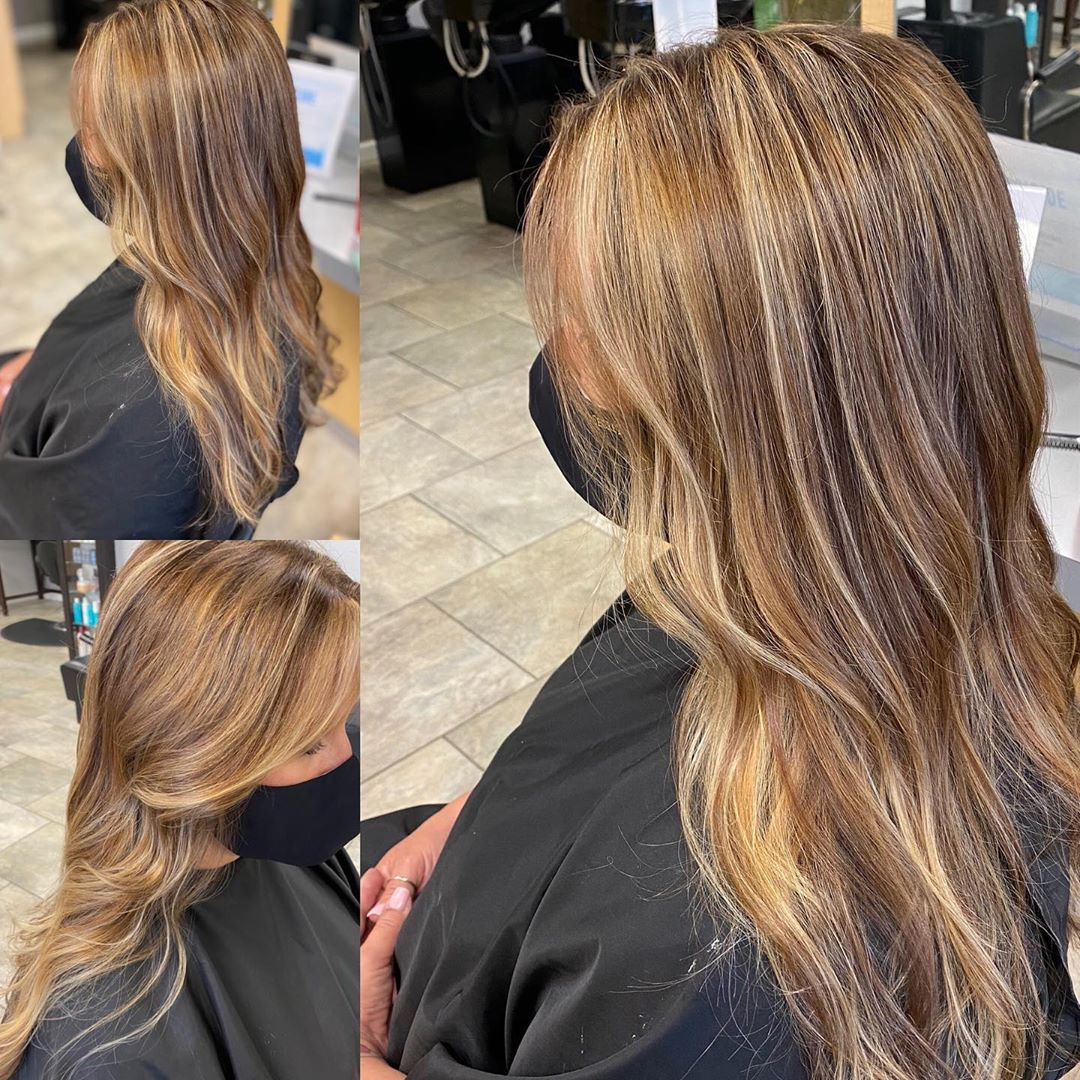 LBI From Red to Blonde on Dark Blonde by Kelly • • •                  …