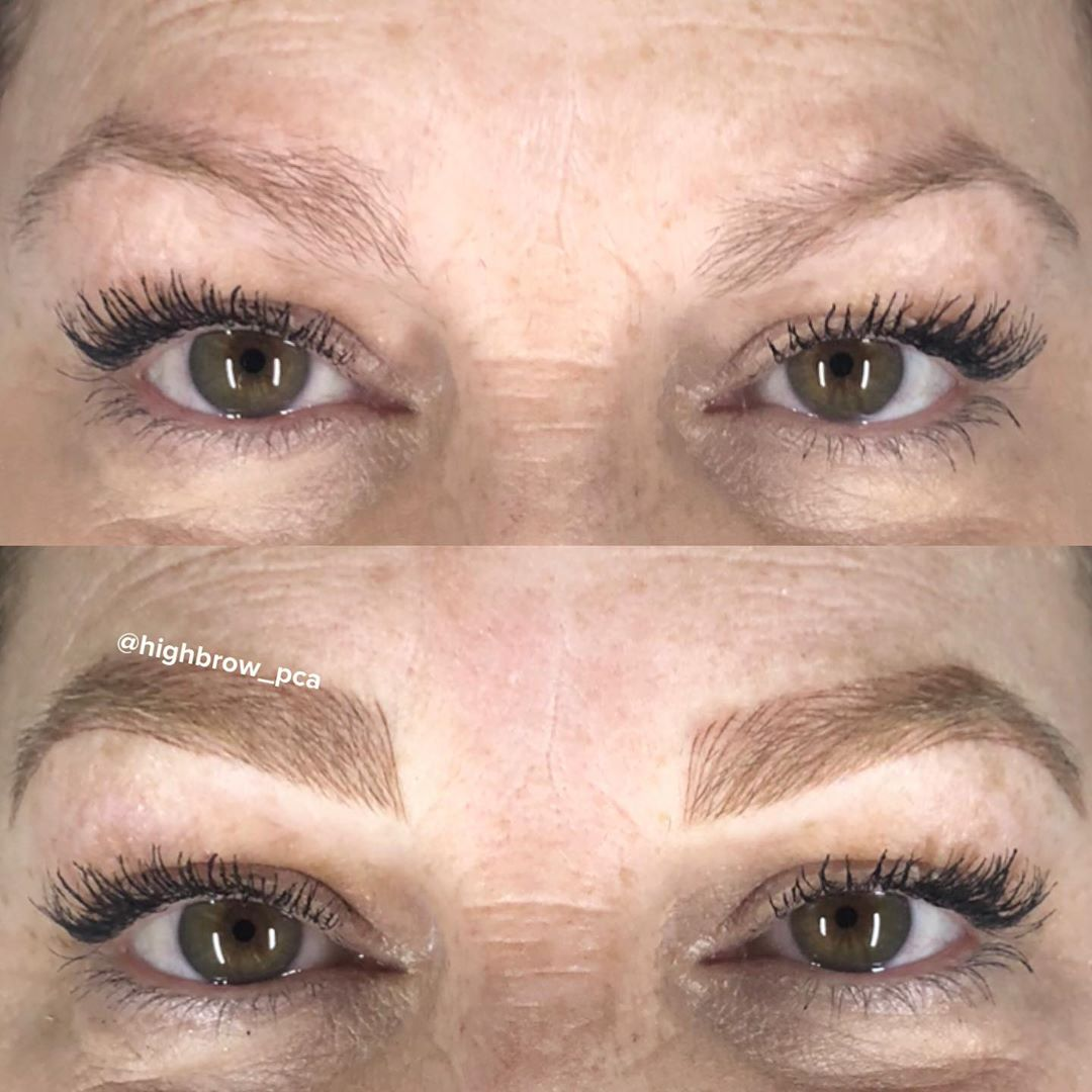 LBI Full and fluffy ginger-y brows for this beautiful boss  .. – – –                …