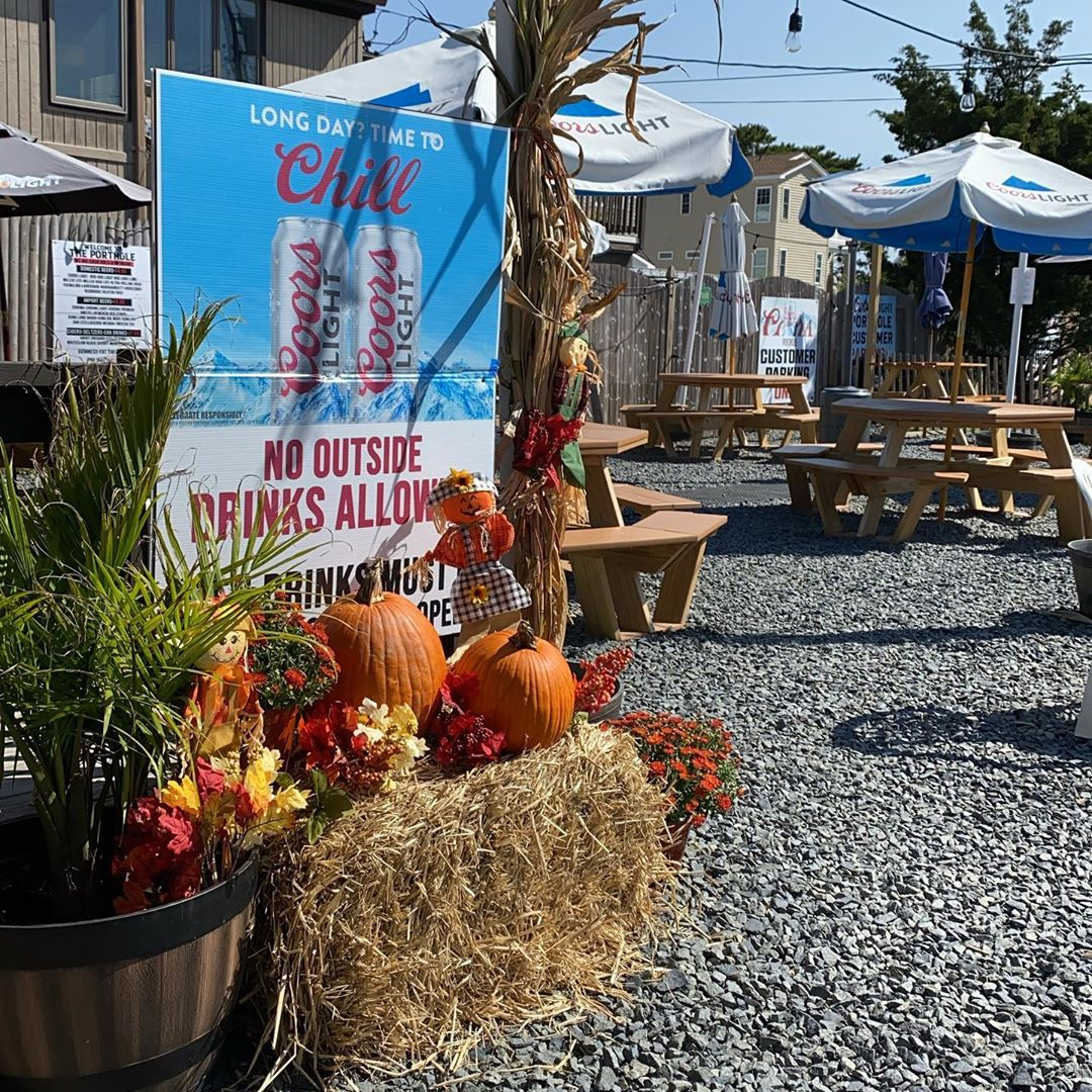 LBI Gorgeous day for some outdoor or inside dining!          while playing pool   …