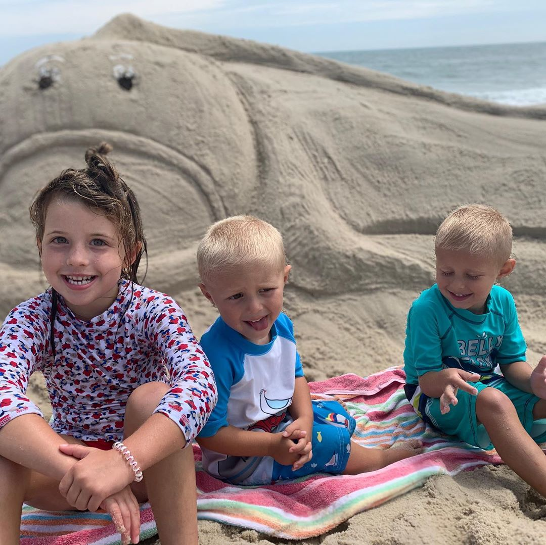 LBI Great day at the beach with my favorite guys!  Enjoying the last few weekends in…