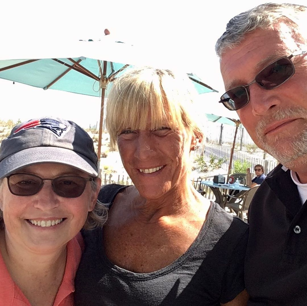 LBI Great time chillin  with  and her hubby Ken at their new home        …