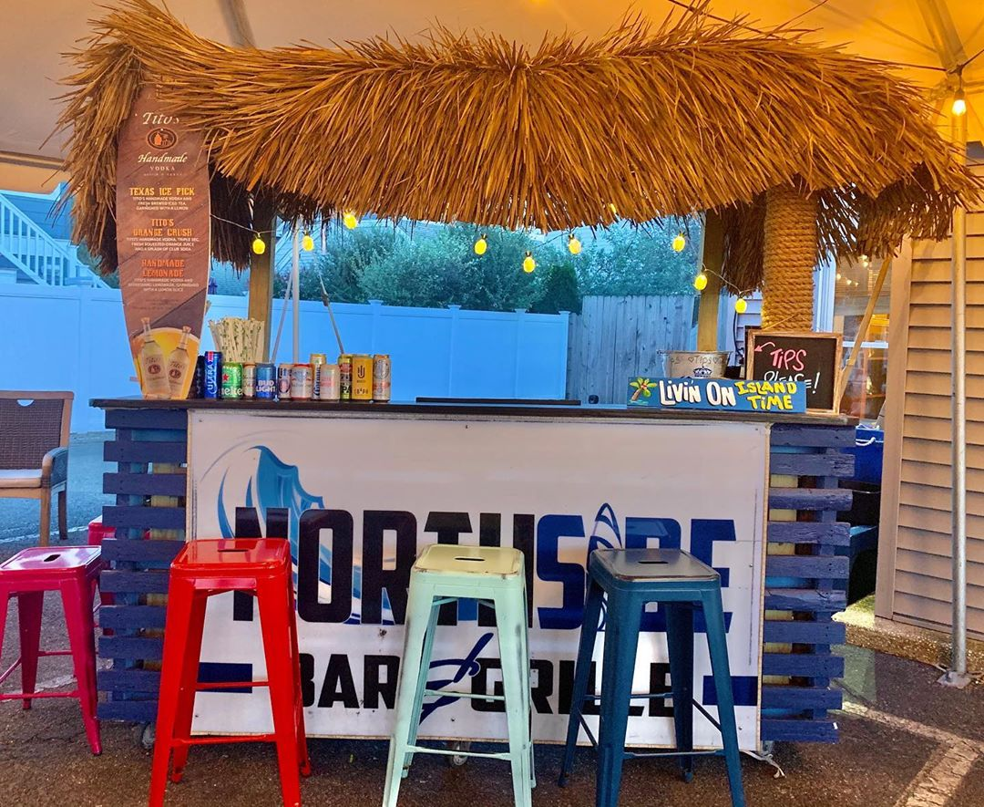 LBI Have you Been to Our Outdoor Tiki Bar Yet? There's Still Time! Find it Under the…