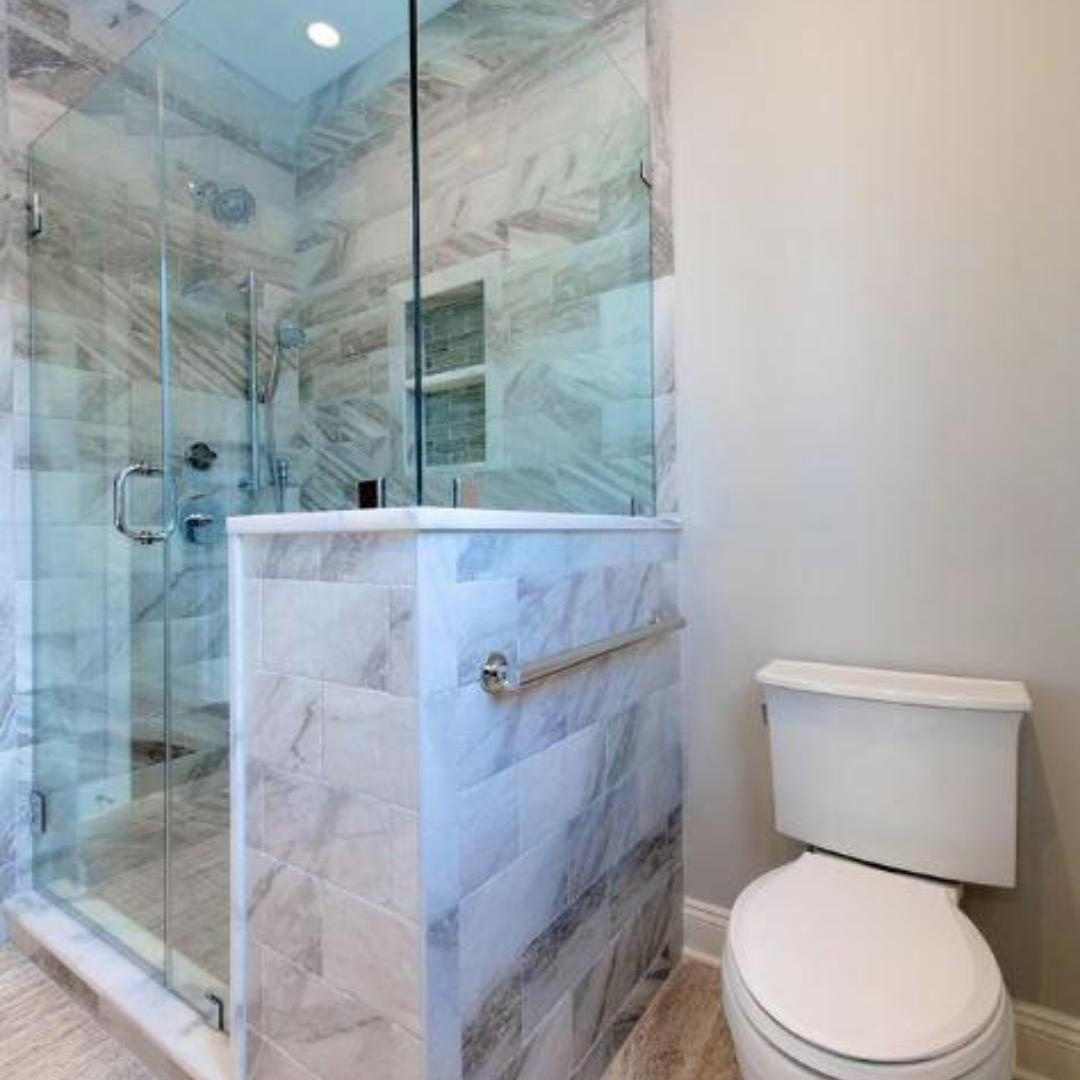 LBI Here's why you should add a walk-in shower to your bathroom: They use less water…