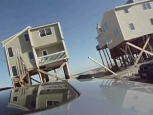 LBI Holgate NJ driveby after Hurricane Sandy – from Julia to southern end #LBI