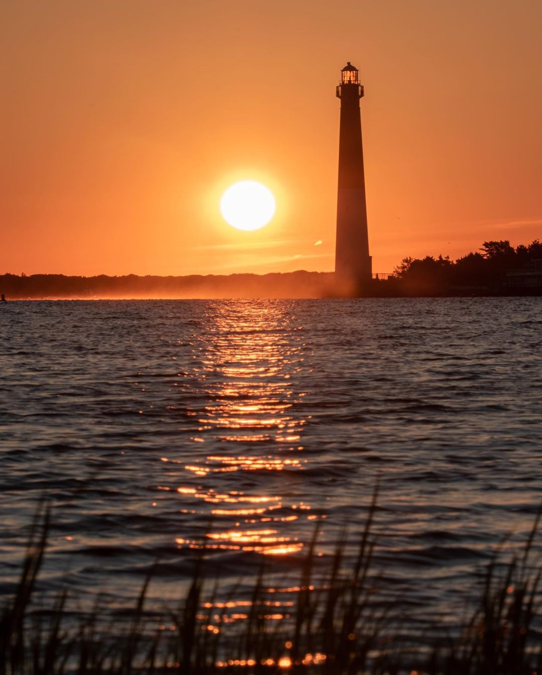 LBI I got up early to catch sunrise near the Old Barney lighthouse at the north end …