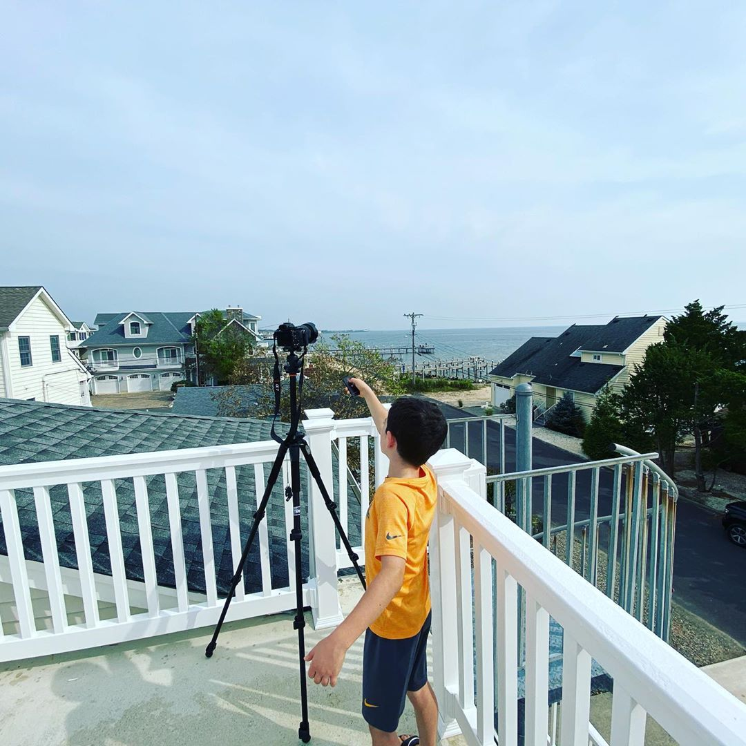 LBI I had a helper taking listing photos today. He likes to use the remote. Waretown…