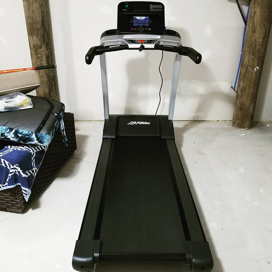 LBI Install 1 of 4 completed.  T3 w/Track Treadmill completed by      …