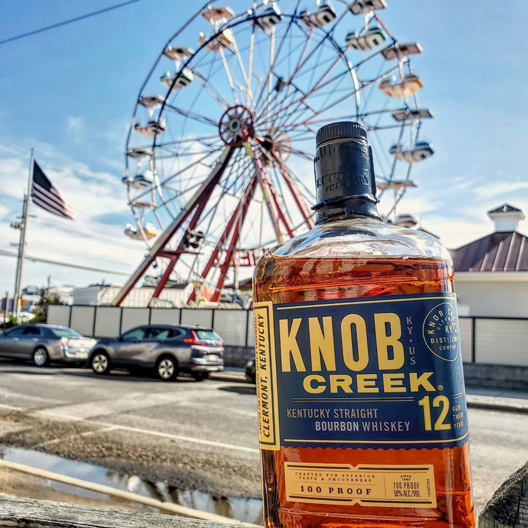 LBI Knob Creek 12 Year. Baking spices, butter, red velvet cake, cinnamon. Nothing un…