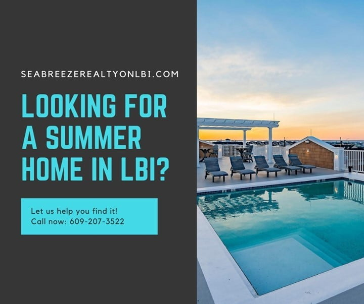 Read more about the article LBI Let us help you find that LBI summer home you've been looking for. Call now: 609…