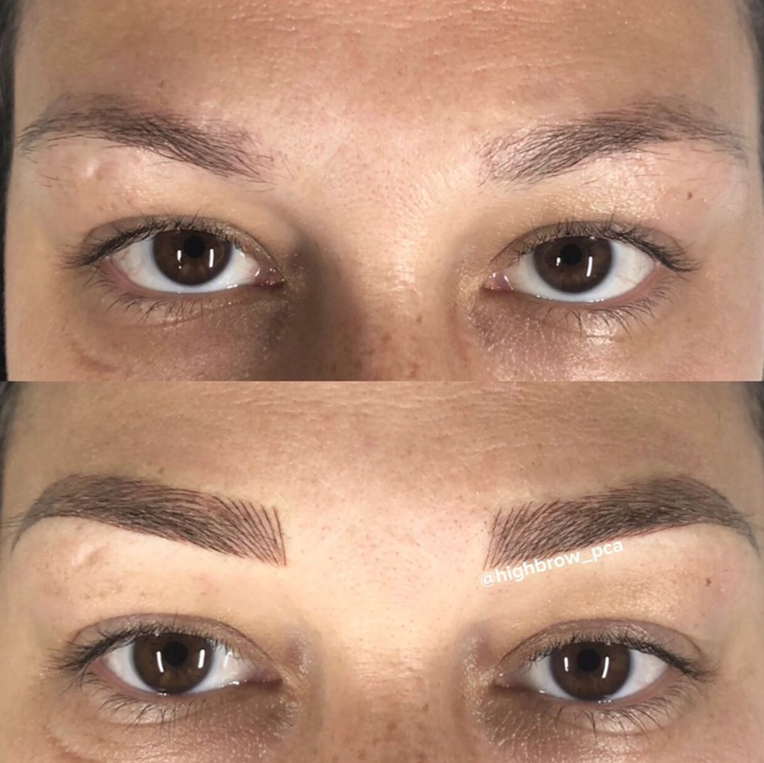 LBI Microblading for this beauty from a few weeks back..swipe to the end to see a cl…