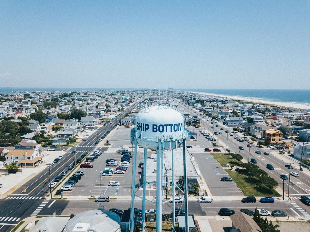 LBI More water tower love from   ! Check out his page for more LBI pics!  Be sure to…