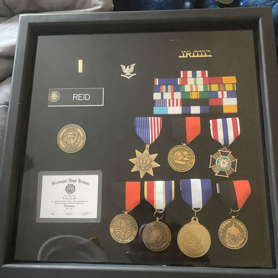 LBI My daughters ROTC accomplishments  I am beyond proud of her!  . . .  Need afford…