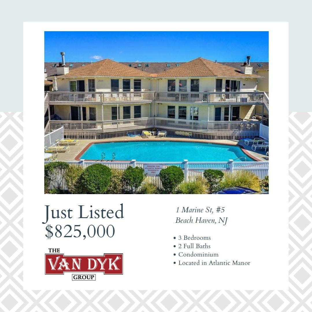 LBI NEW LISTING!  Great opportunity to purchase a rarely available condo unit in the…