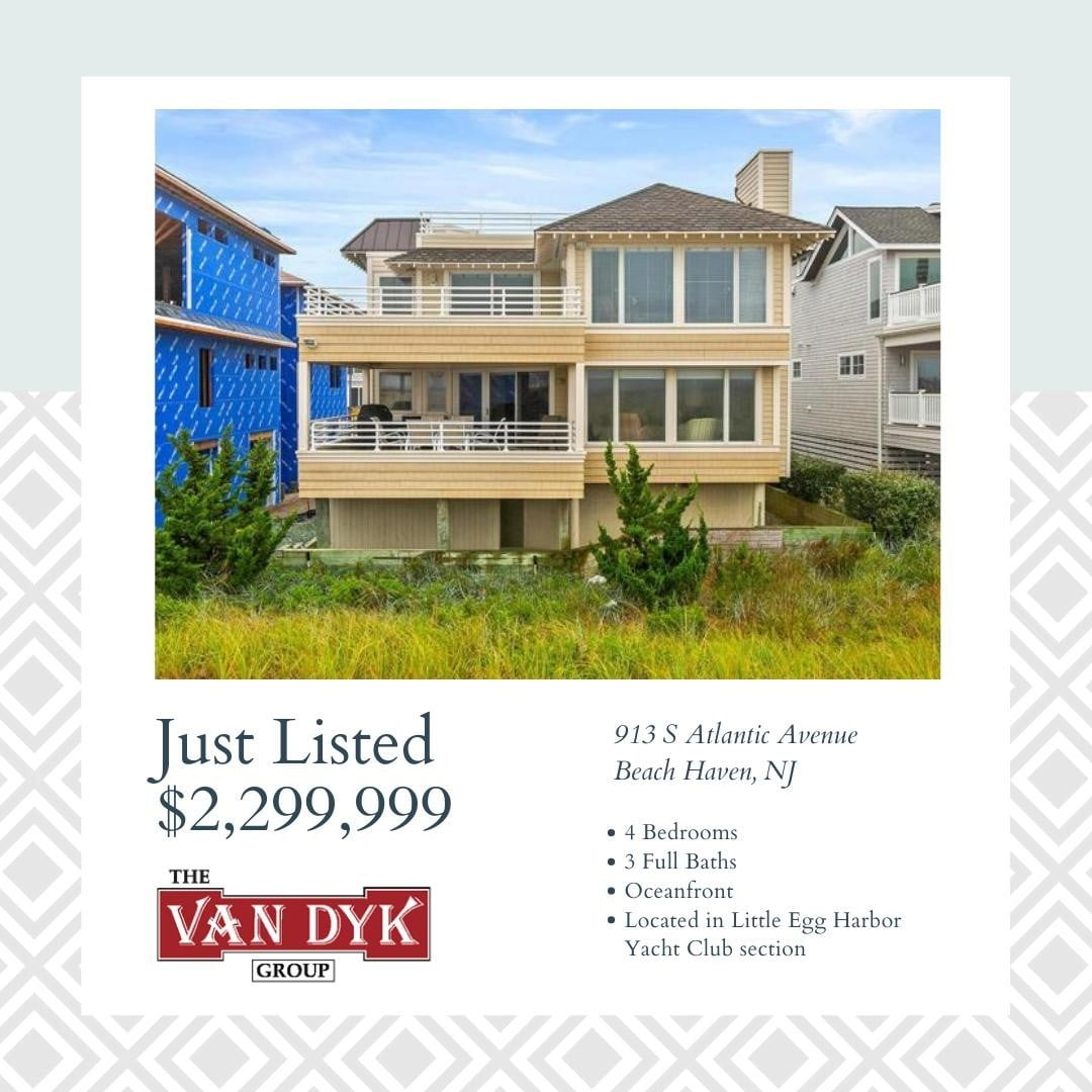 LBI NEW LISTING!  This fully renovated and turn-key OCEANFRONT home offers the best …