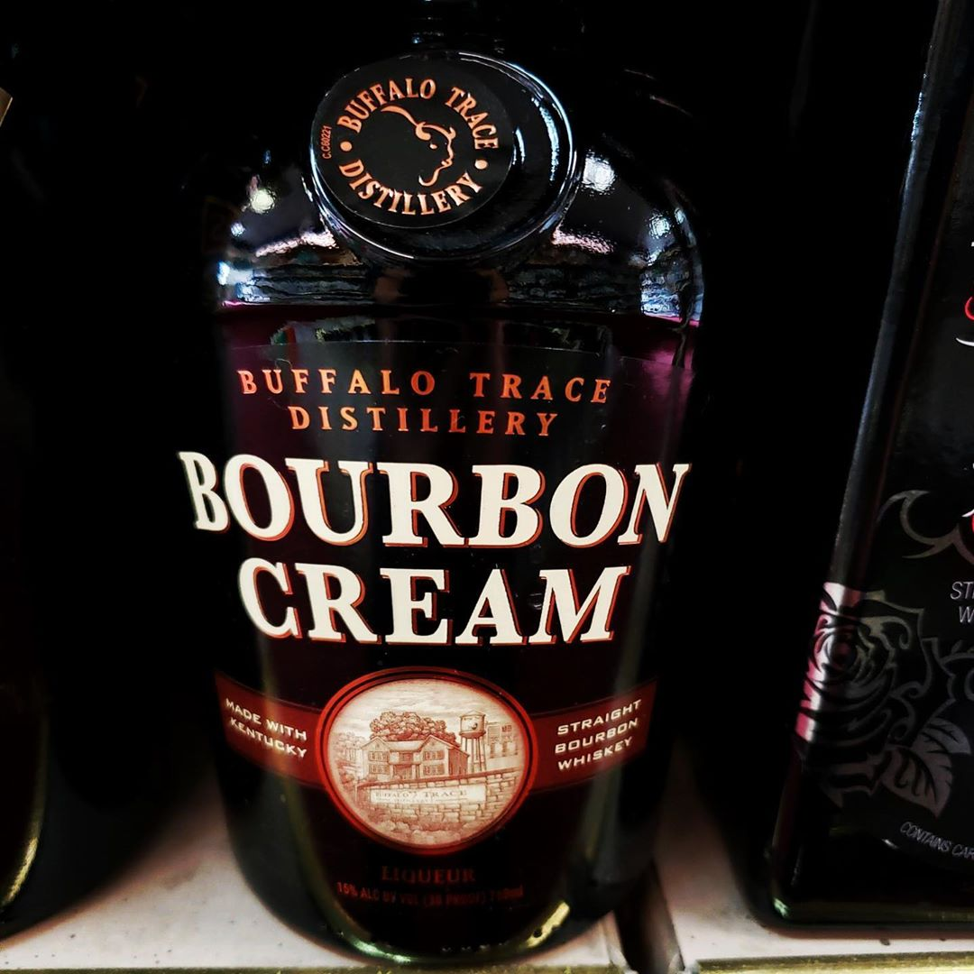 LBI  NEW PRODUCT  Buffalo Trace Bourbon Cream -Enjoy on the rocks or in a cup of cof…