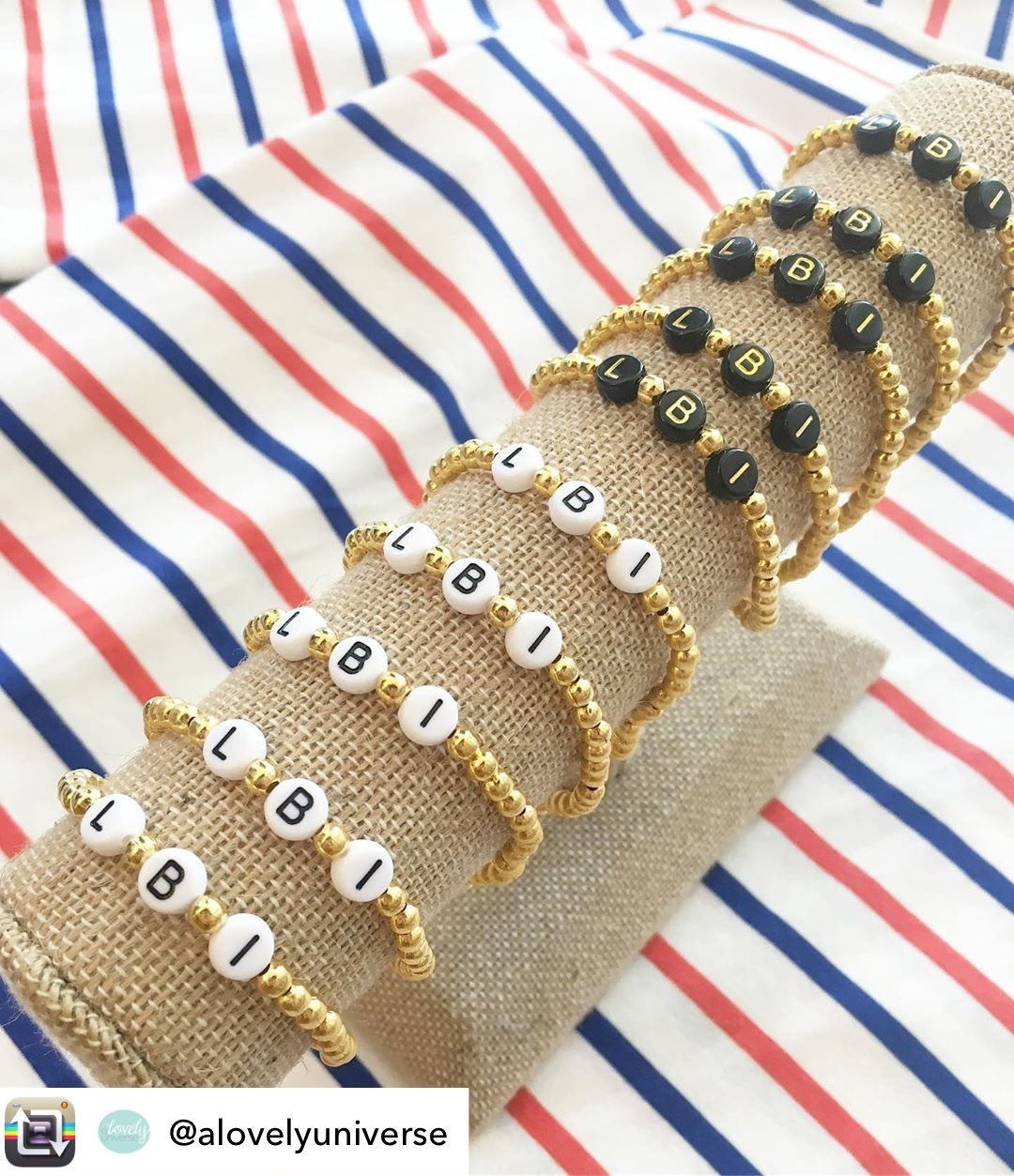 LBI New gold, white& black  bracelets are here and they're already going quick  $13 …