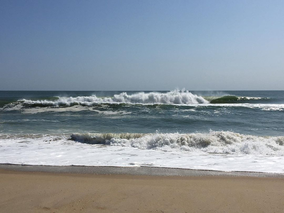 LBI Nice waves today thanks to  out there. Surfers enjoying it!   …